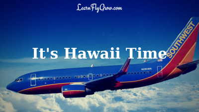 Southwest airline now flying to hawaii