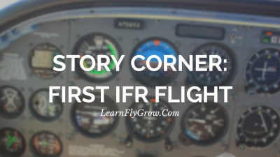 Story Corner: Flying through the clouds