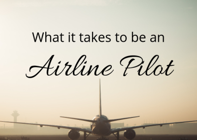 What it takes to be an airline pilot